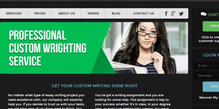 Custom Writing Help - Writing