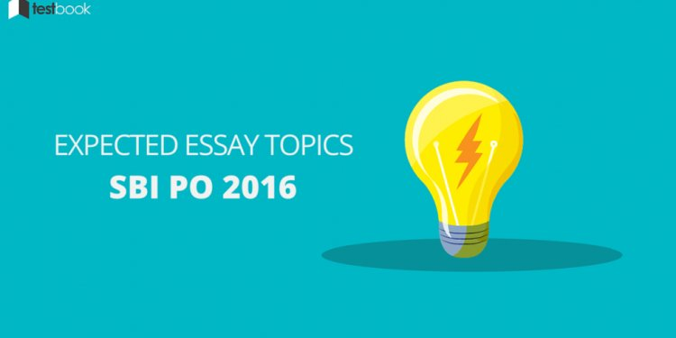 Expected Essay Topics for SBI