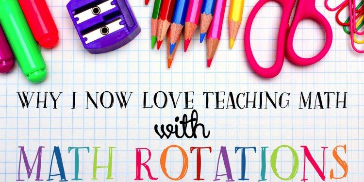 Math Rotations: Math Centers
