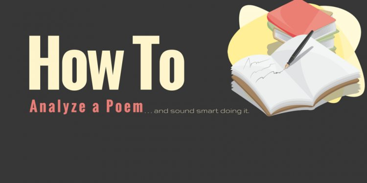 How to Write a poem analysis essay?