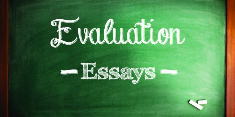 How to write an evaluation essay Examples?