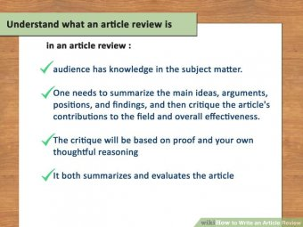 Image titled Write a write-up Review action 1