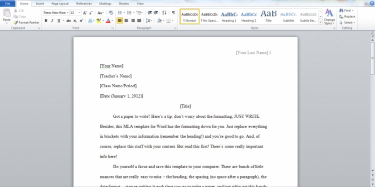 Writing a college essay format