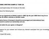 Ielts essay writing format